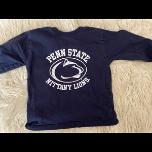 Toddler girl Penn State shirt